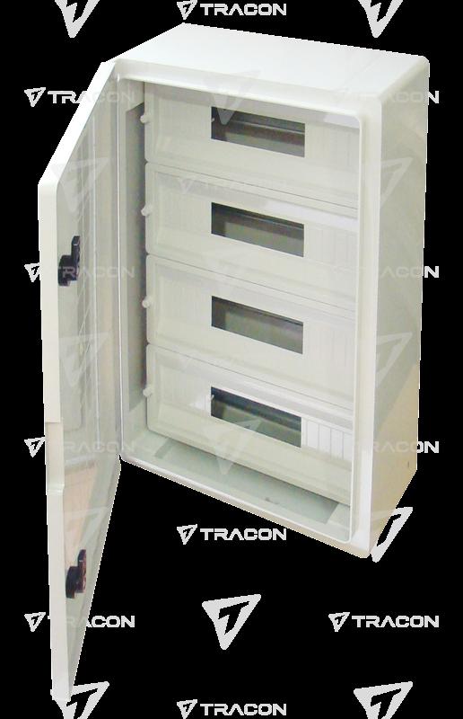 imageView/4/w/600/h/400_Rozvodnáskriňaplastová,skrycoudoskou,4×17mod,H×W×D=600×400×200mm,IP65